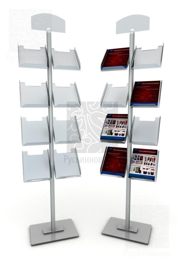 Напольная стойка для буклетов